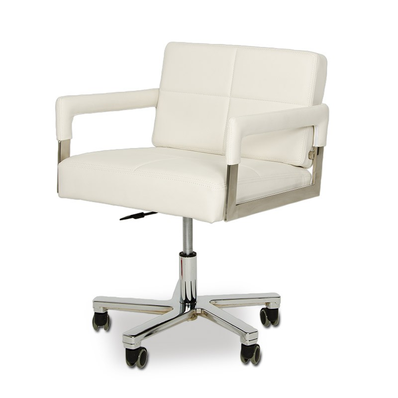 Modern White Leather Office Chair plain modern leather desk chairs executive office chairdauphin