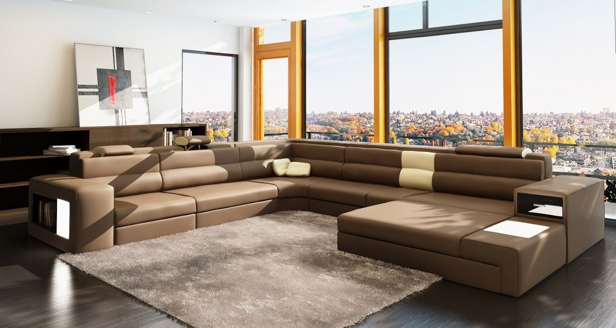 Italian Furniture Stores: Modern Living Room Furniture For A Combination Of