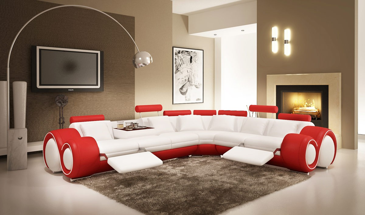 Modern Living Room Furniture For A Combination Of Expediency And Flair LA F