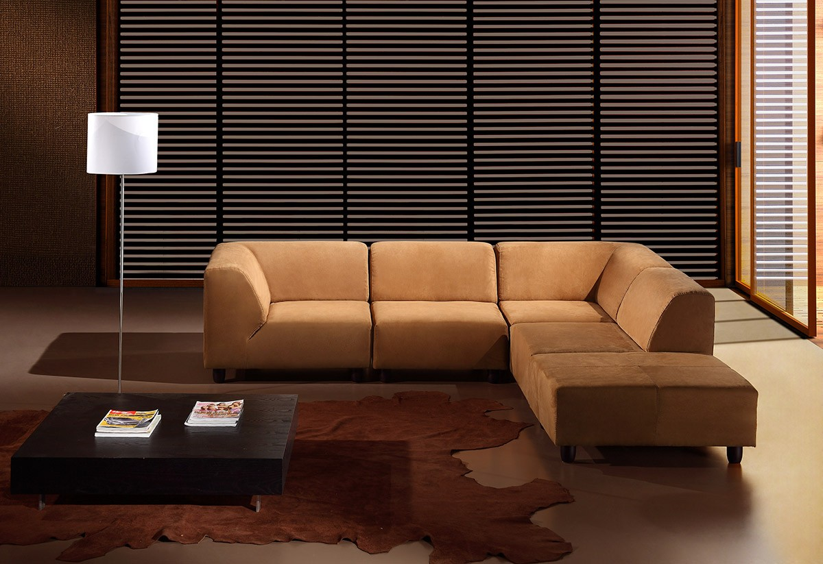 Choosing Between Leather and Fabric Modern Sofas - LA Furniture Blog