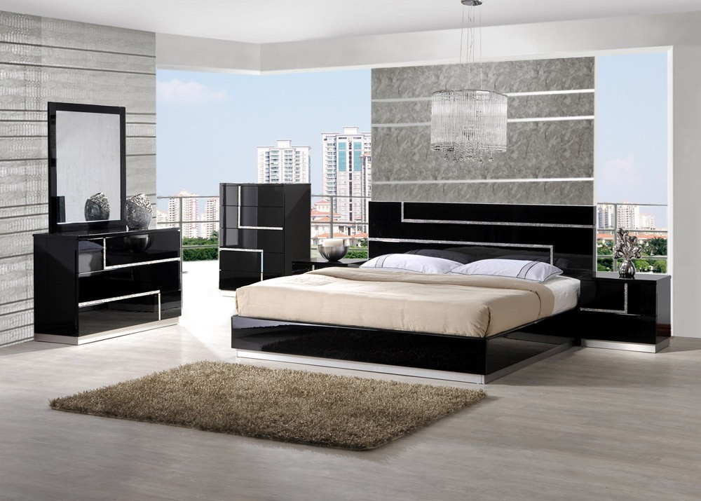 contemporary furniture definition. black bed contemporary furniture definition