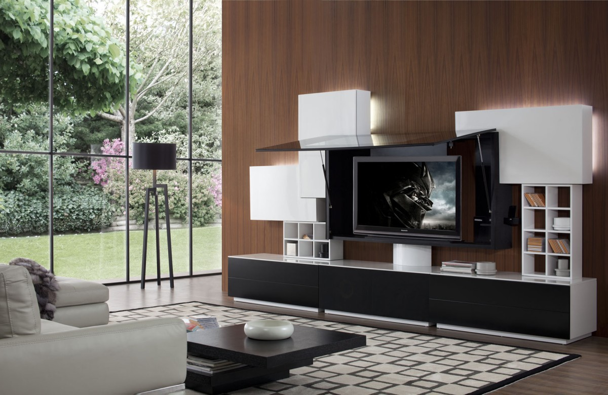 modern entertainment center Archives LA Furniture Blog