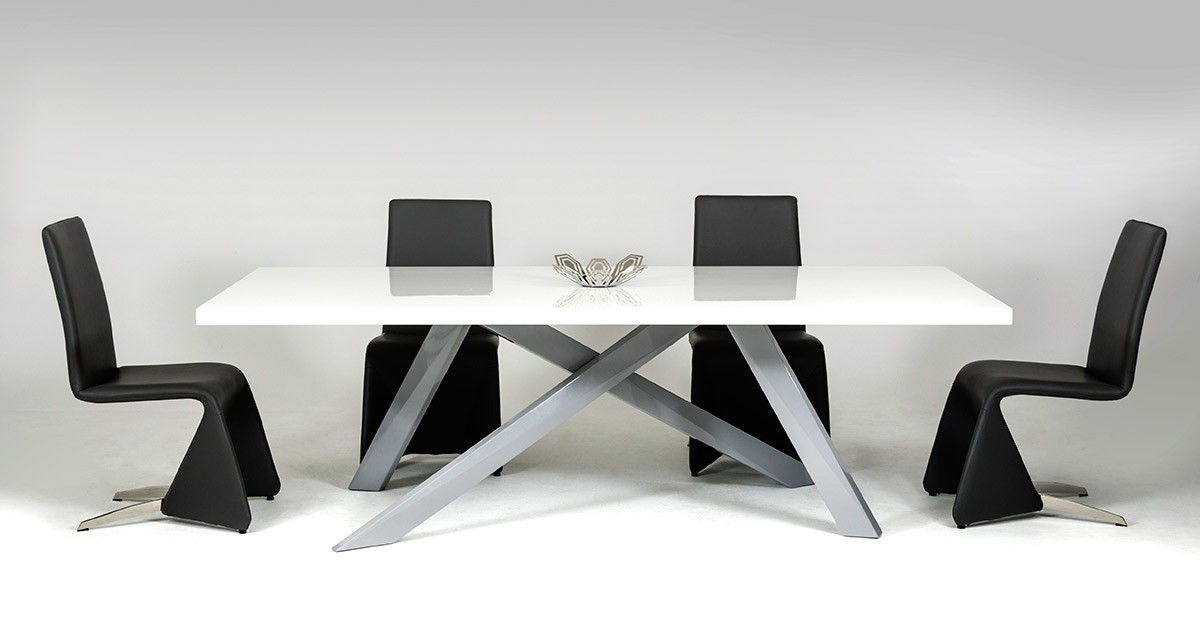Rectangular dining tables are the most popular choice, as it allows you to  accommodate more people. Choose a table that can seat at least six persons,  ...