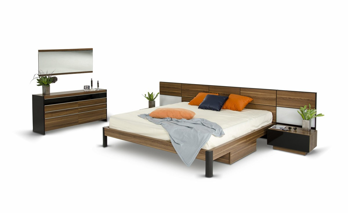 Time to change your bed to a modern platform bed la Modern platform beds