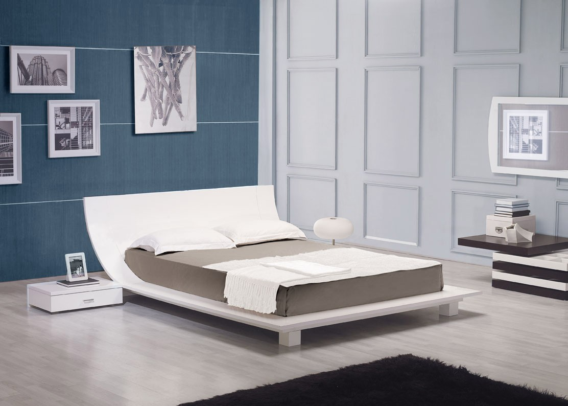 Lacquer Finish Bed Frame By LAFurniture