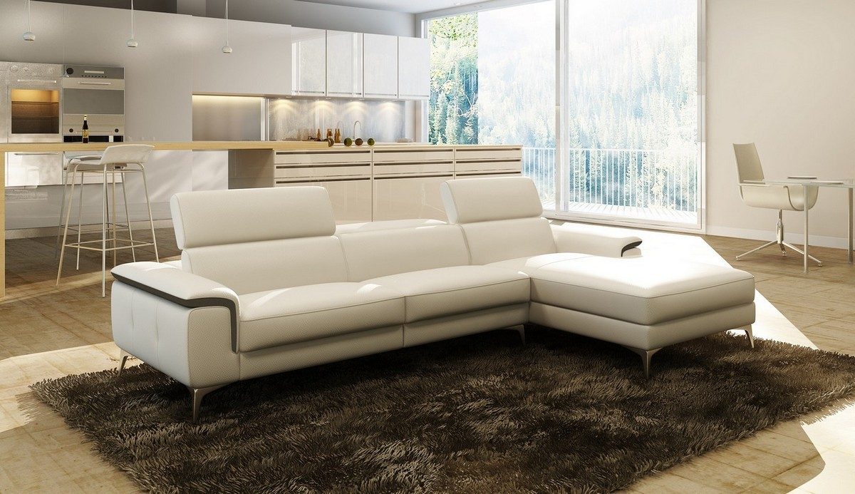 Leather Sofa by LAFurniture