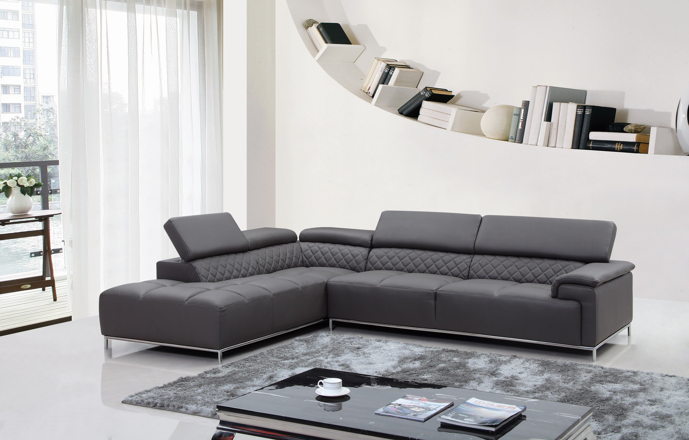 Greet the new year with a modern living room design la for Living room modern furniture