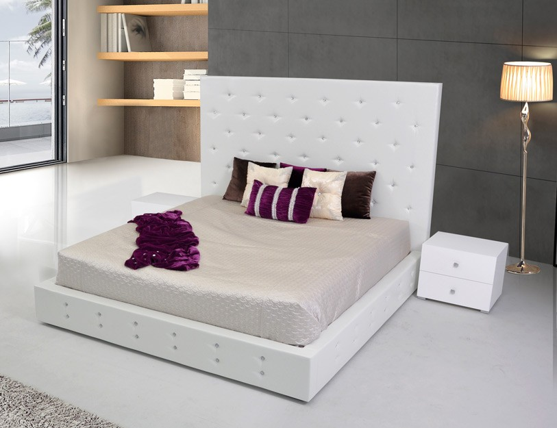 A look at modern and contemporary furniture la furniture blog - Characteristics of contemporary platform beds ...