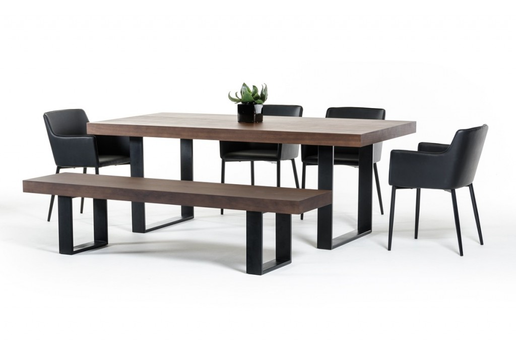 modern dining tables archives la furniture blog. Black Bedroom Furniture Sets. Home Design Ideas