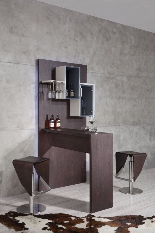 Create A Wet Bar At Home With A Modern Bar Unit La Furniture Blog