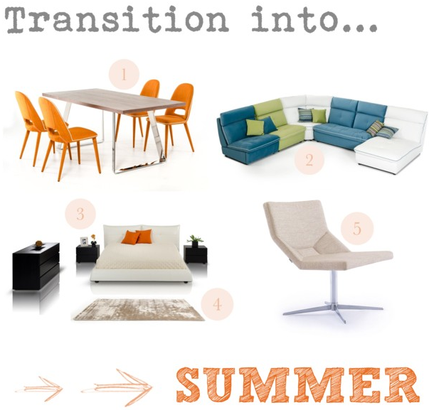 Transition into Summer