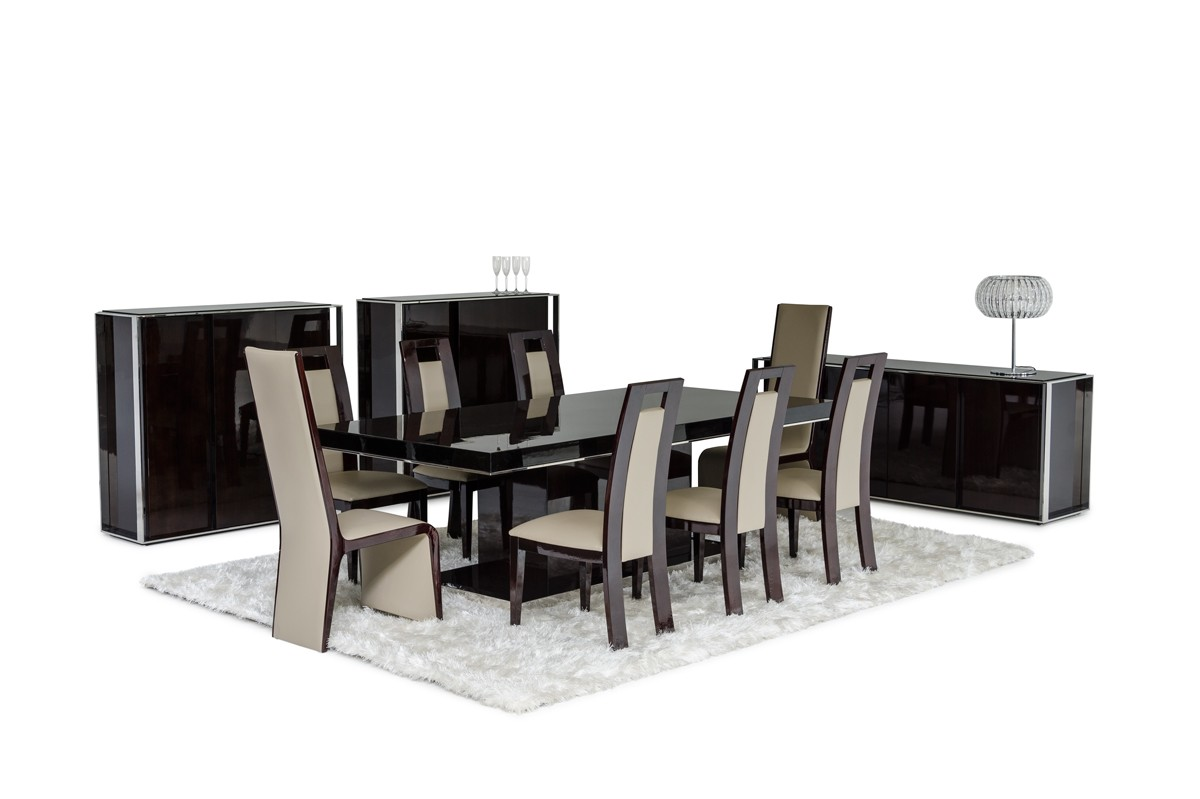 Revamp the look of your dining room with modern dining for La furniture