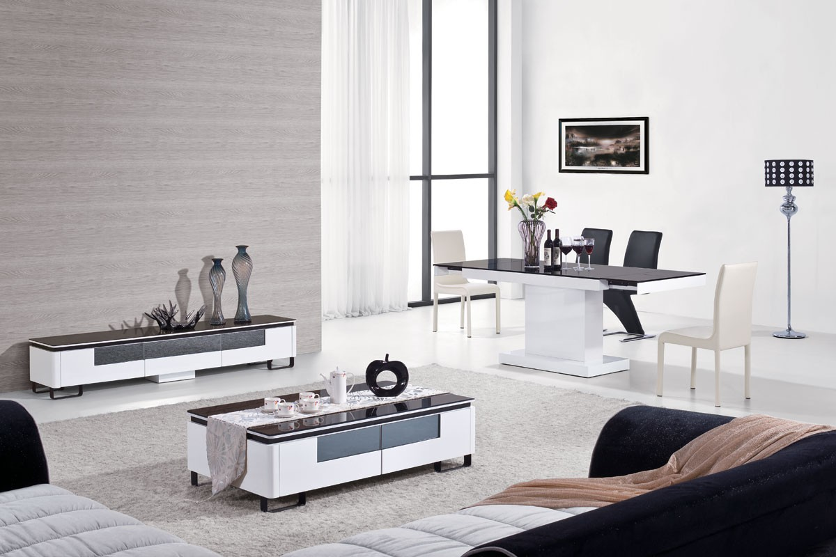 Use A Modern Entertainment Center For Your Living Room Accent La  # Vladon Meuble Tv