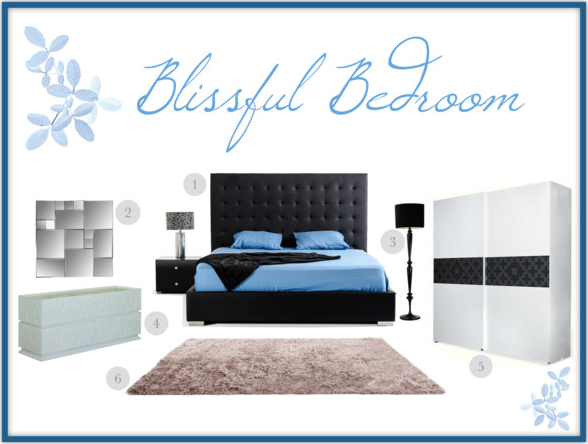 Blissful Bedroom   Polyvore