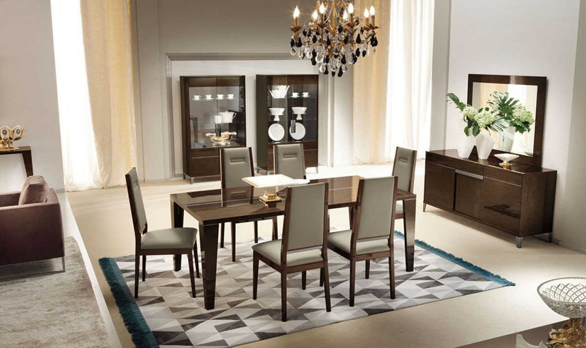 Dining Room Set For Simple And Formal Dining Room Themes LA Furniture Blog