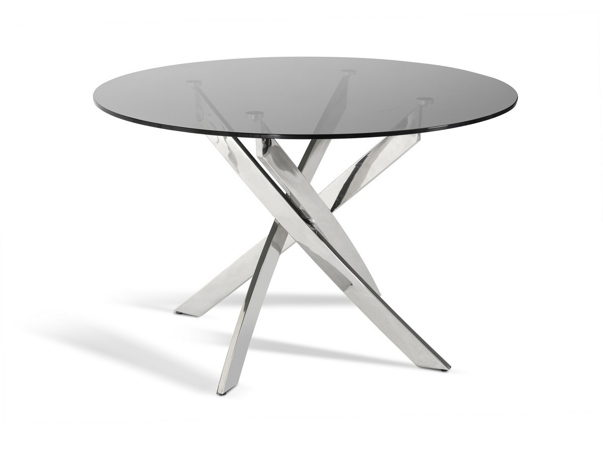 VGLET07 SMK. Glass Is Another Material Used For Modern Dining Tables.