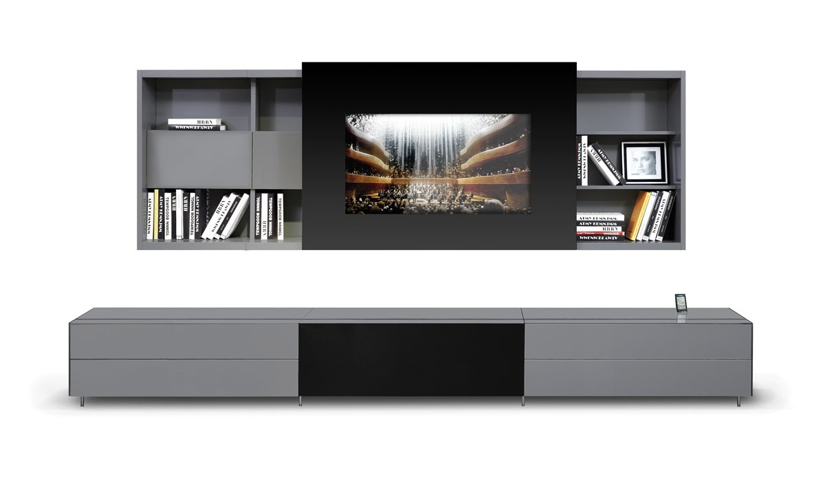 Entertainment center contemporary entertainment centers and tv stands - Modern Entertainment Center Archives La Furniture Blog
