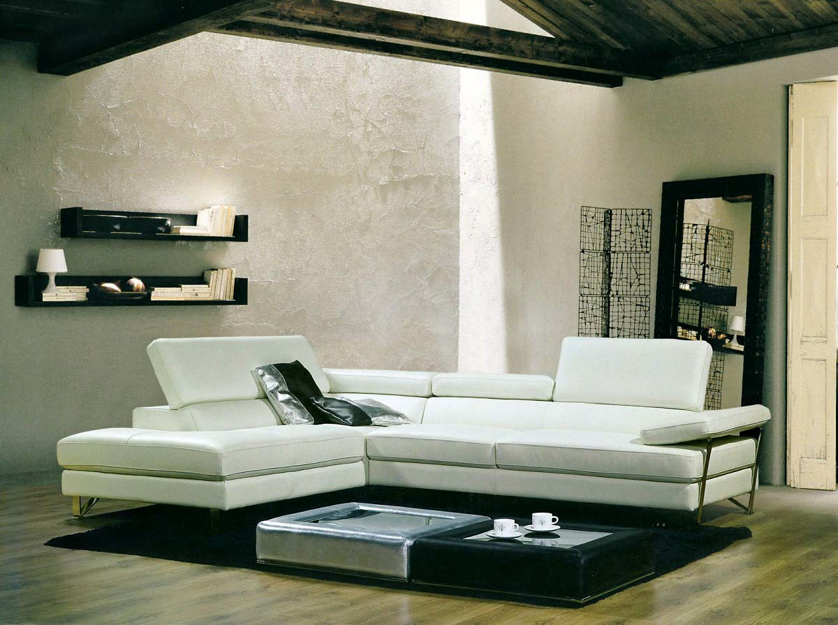 Living Room Decorating Tips with White Sofa - LA Furniture Blog
