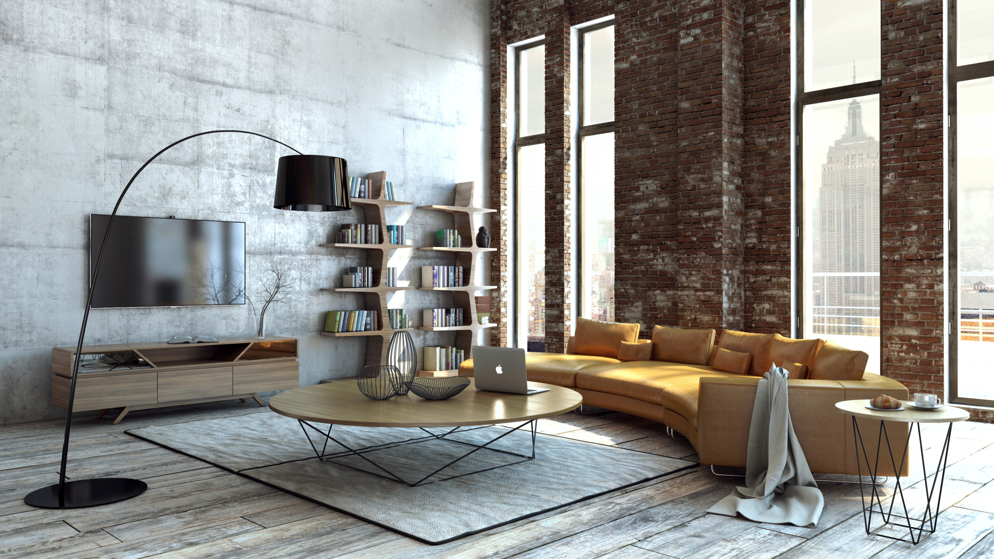 Great Idea to Arrange a Small Loft Apartment - InteriorZine