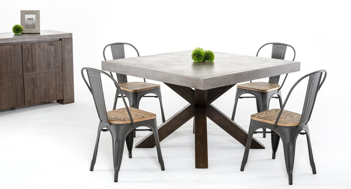Superior Square Dining Tables Require A Distance Of About 36 To 42 Inches From The  Wall For Easy Movement And Traffic.