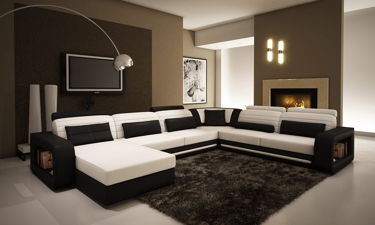 Contemporary furniture archives la furniture blog - The modern or contemporary living rooms style ...