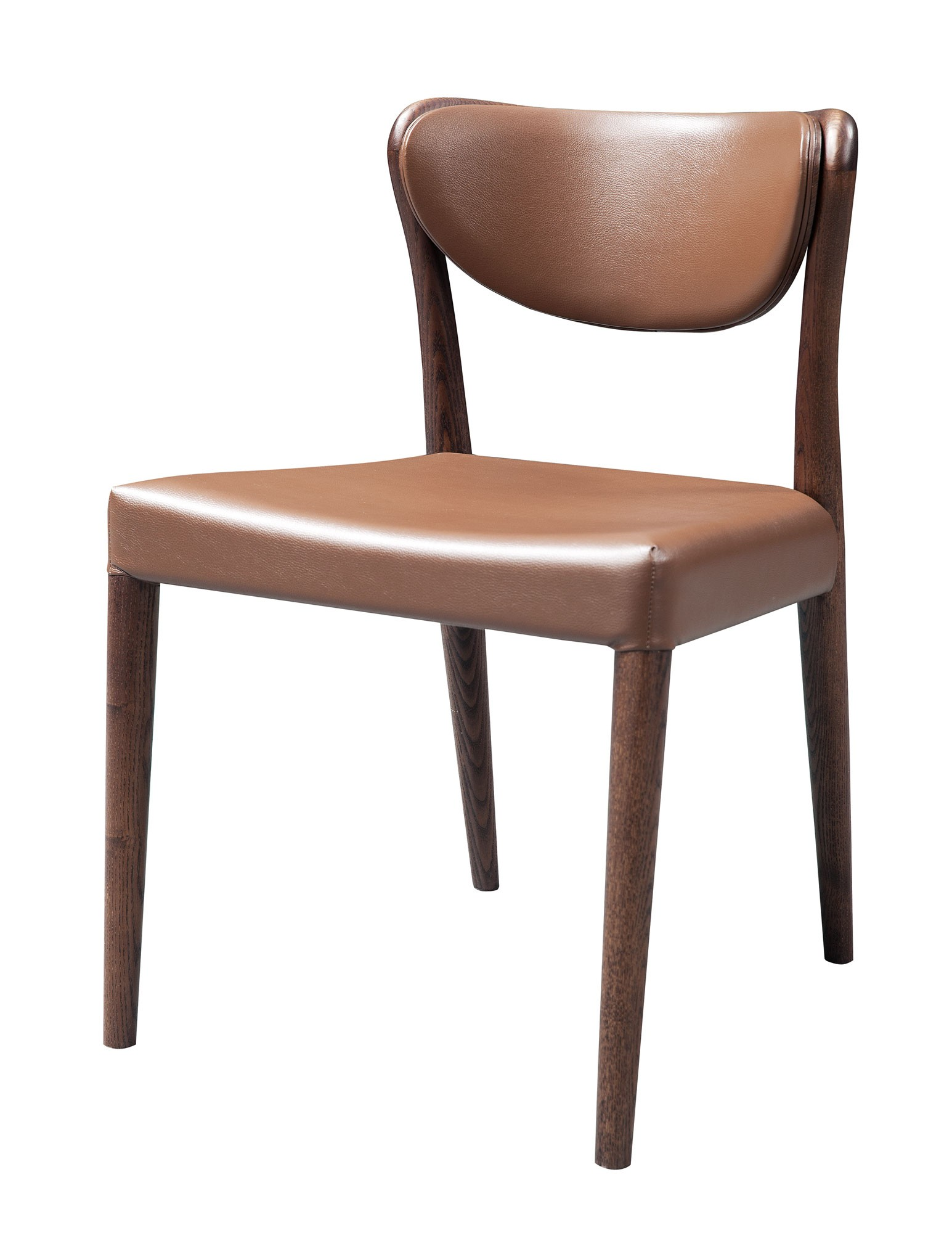 What makes a modern dining room chair comfortable la for Modern dining room chairs