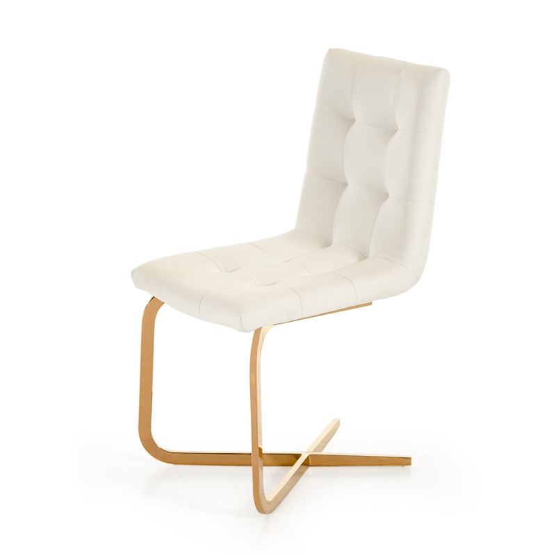 What makes a modern dining room chair comfortable la for Modern dining chairs cheap