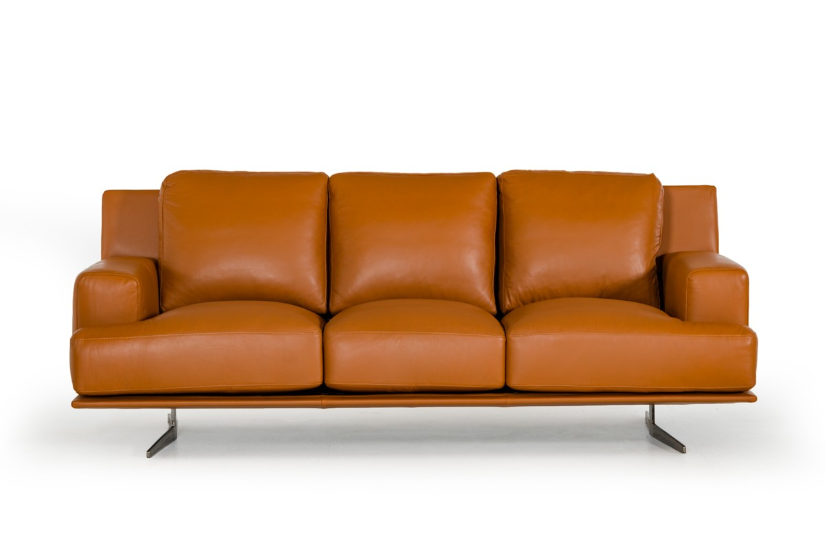 Leather Modern Furniture Perks Up The Feel Of Your Home