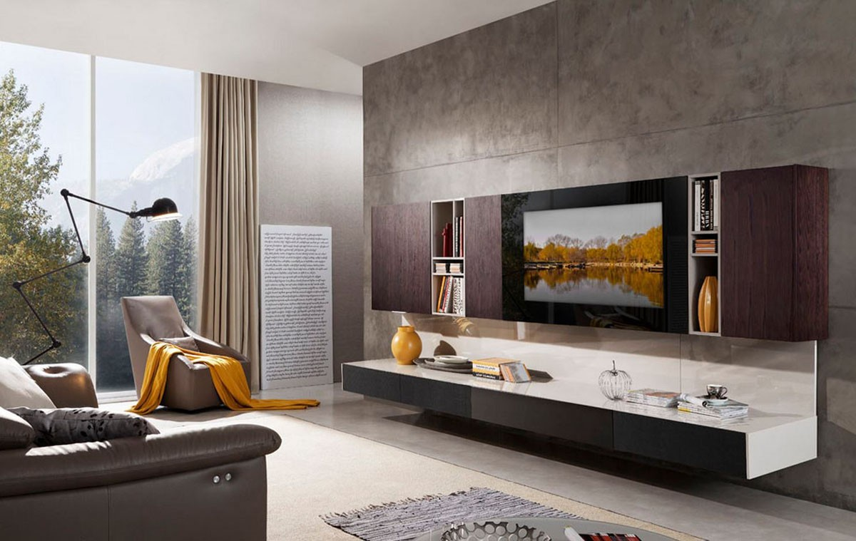 Building a family entertainment room with modern tv units Design your own tv room