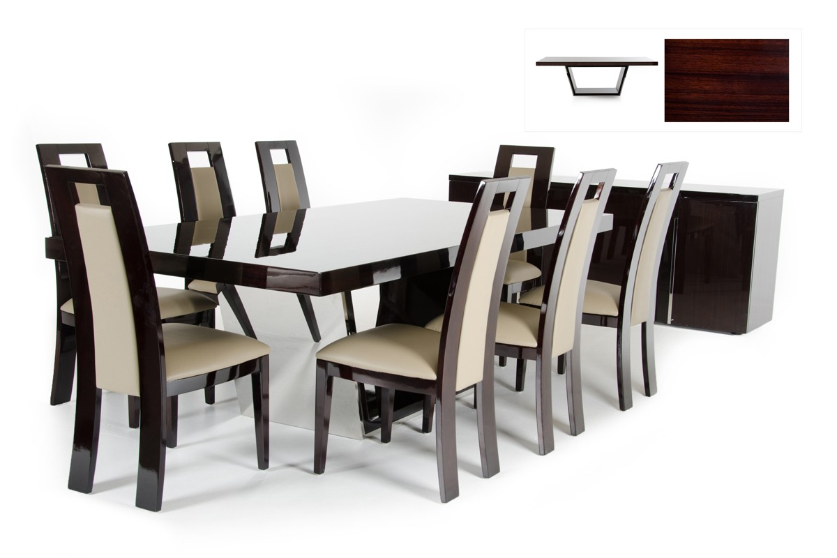 finding the best online modern furniture store in los angeles  la  - modrestchristamodernebonydiningtabledsc