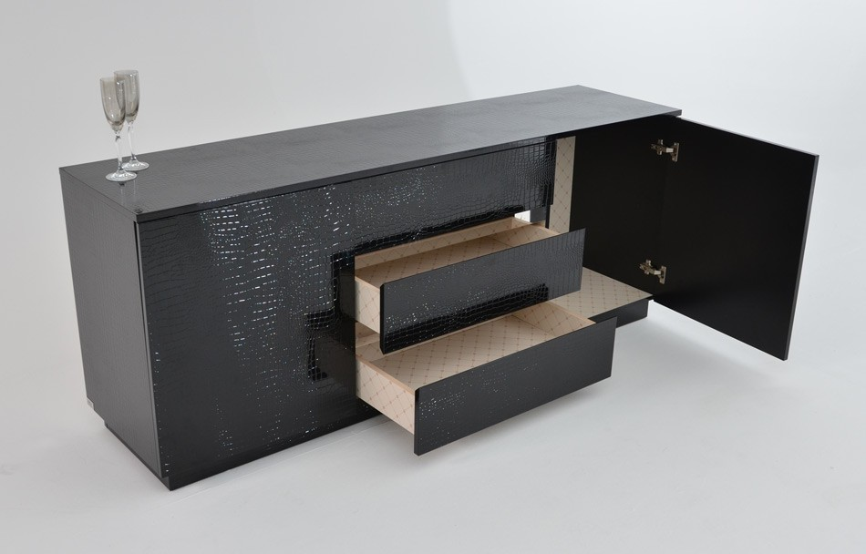 axb4 1. Modern Buffet for a Utilitarian Modern Dining Room   LA Furniture Blog