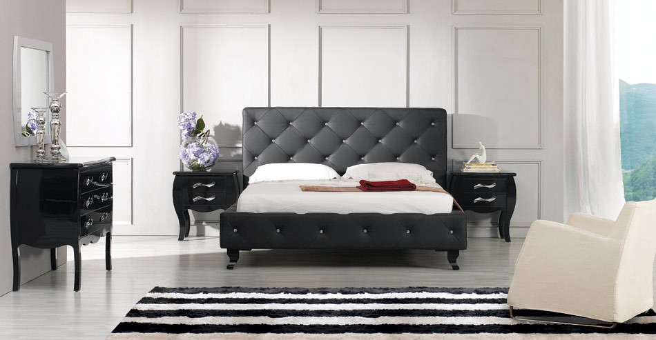 black or white furniture. sanremoblackbed1_1_3_1 black or white furniture