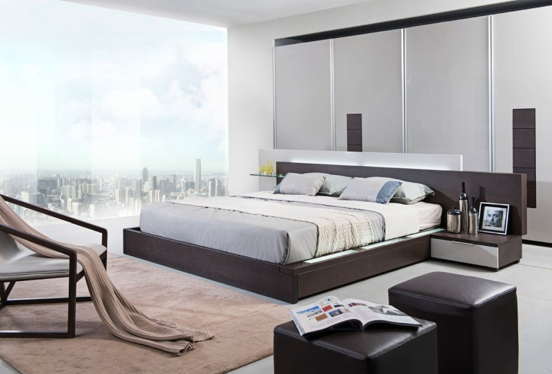 Add Style with Contemporary Bedroom Furniture - LA Furniture ...
