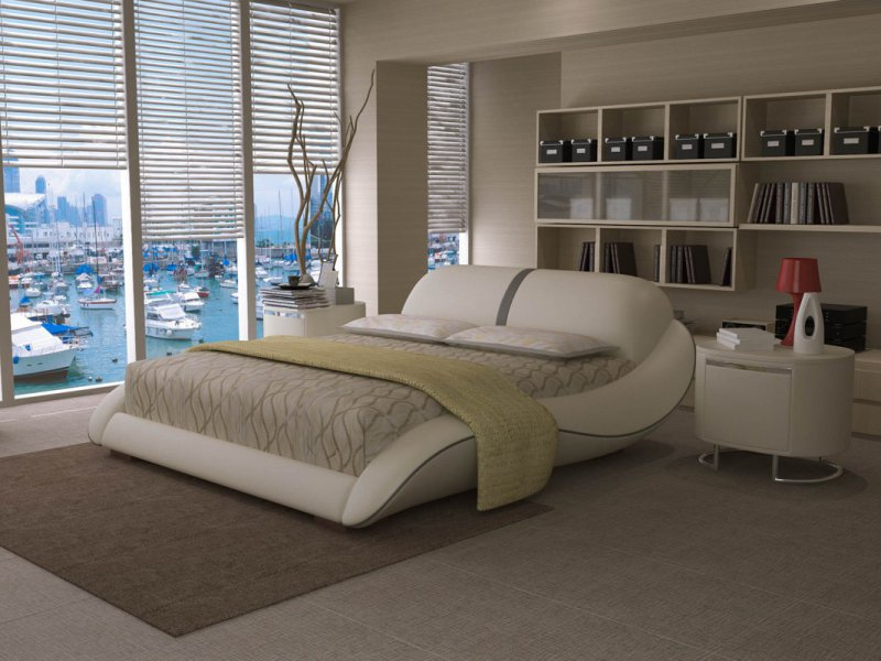 create a romantic bedroom with modern bedroom sets la