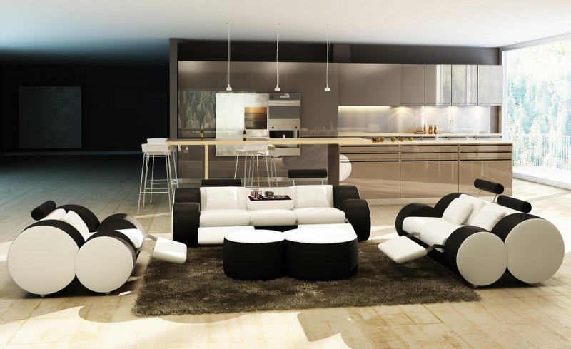 How to have Privacy in an Open Floor Plan - LA Furniture Blog