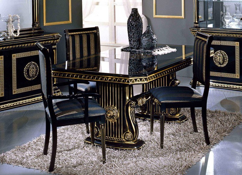 Mix and match modern dining room sets la furniture blog for Modern dining chairs with traditional table