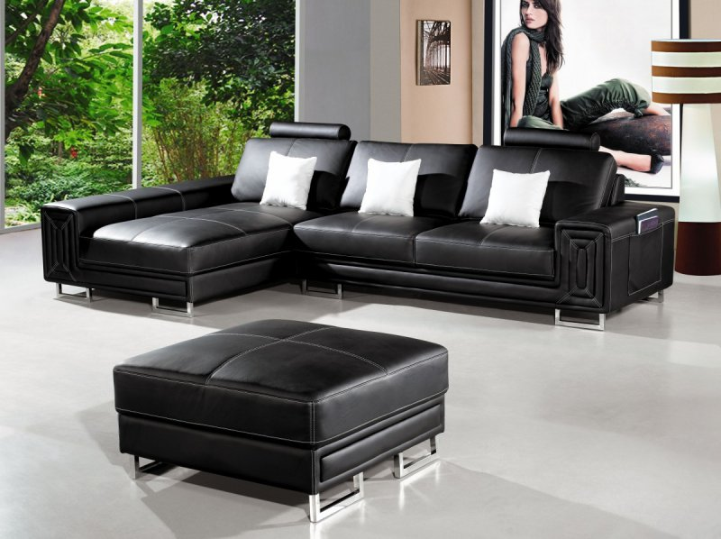 Black Modern Living Room Furniture Allows You To Incorporate Other Colors  That Contribute To The Chic And Sophisticated Look In The Room.
