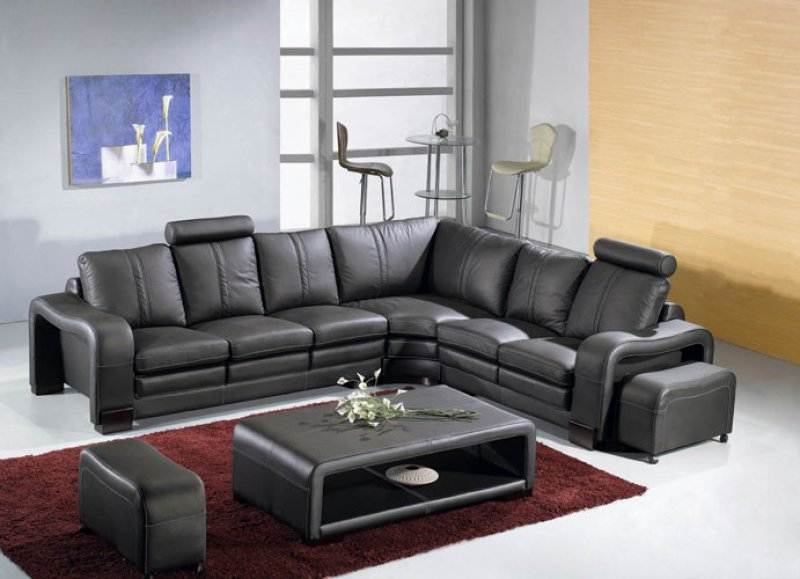 La Furniture Store Blog Black Modern Living Room Furniture Makes Your Home Sophisticated