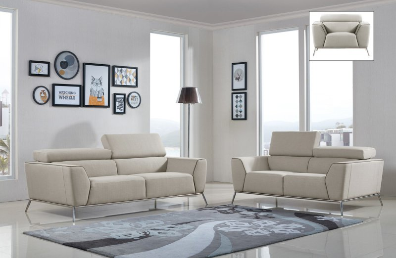 Modern Living Room Sets Fabric Upholstery - La Furniture Blog