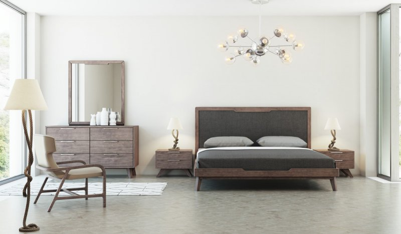 While A Modern Bedroom Set Sets A Unified Theme In A Room, Combining  Different Styles Can Give Your Room A Unique Look Because It Expresses Your  Individual ...