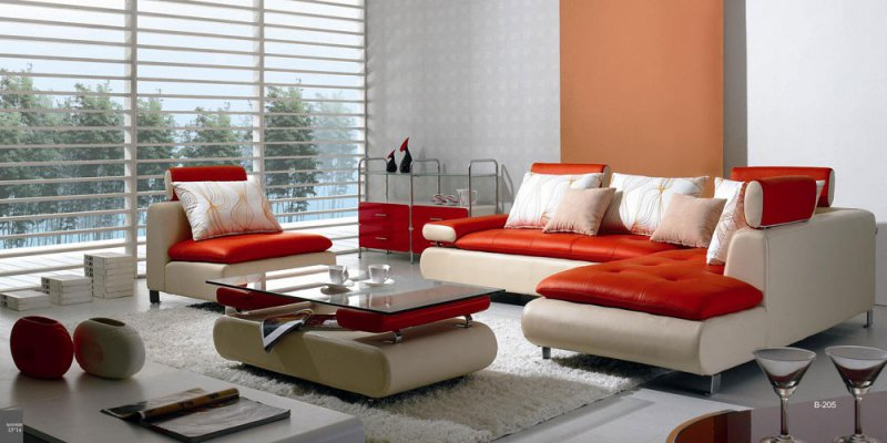 Manufacturers usually suggest cleaning modern leather sofa quarterly or  bi-annually. - Taking Care Of Modern Leather Living Room Furniture - LA Furniture