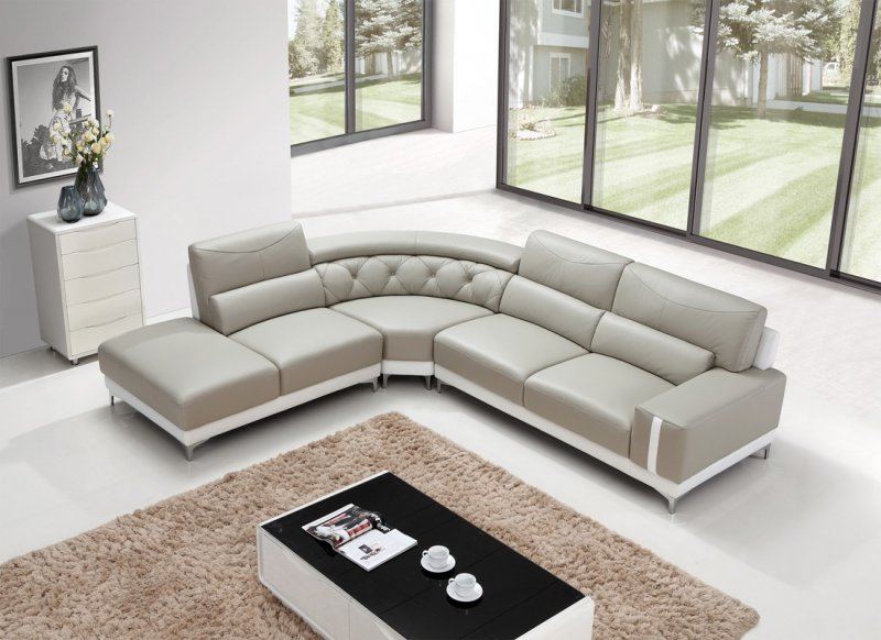 Manufacturers Usually Suggest Cleaning Modern Leather Sofa Quarterly Or  Bi Annually.