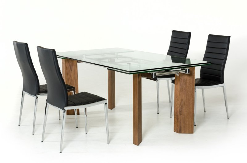 The Pros And Cons Of Glass Top Modern Dining Tables La Furniture Blog - Glass-topped-dining-room-tables