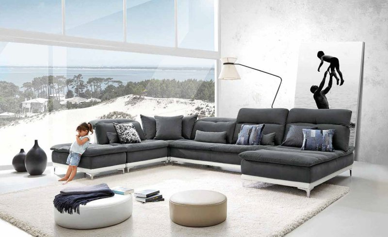 A Comfortable Modern Chaise Sofa Is A Welcome Treat After A Busy Day. The  Thought Of Relaxing In A Comfy Space Is, By Itself, An Enough Reason To  Look ...