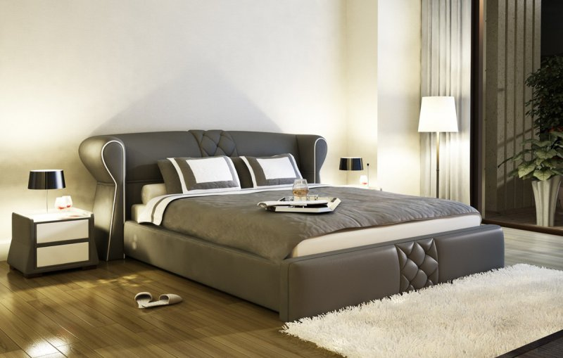 The Top Reasons Why Upholstered Beds Are Popular La Furniture Blog - Comfortable-upholstered-headboard