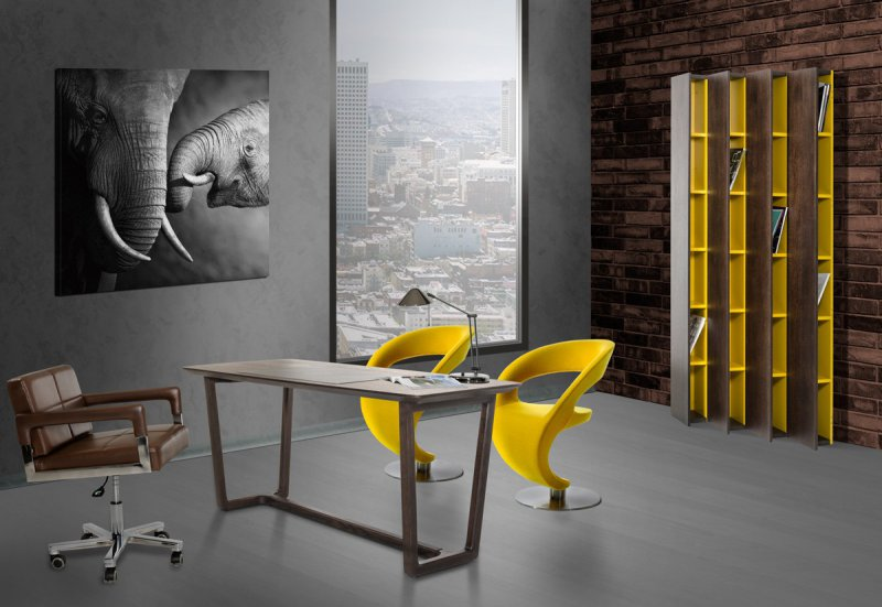 La furniture blog the latest trends in the modern furniture scene - Colors home office can enhance productivity ...