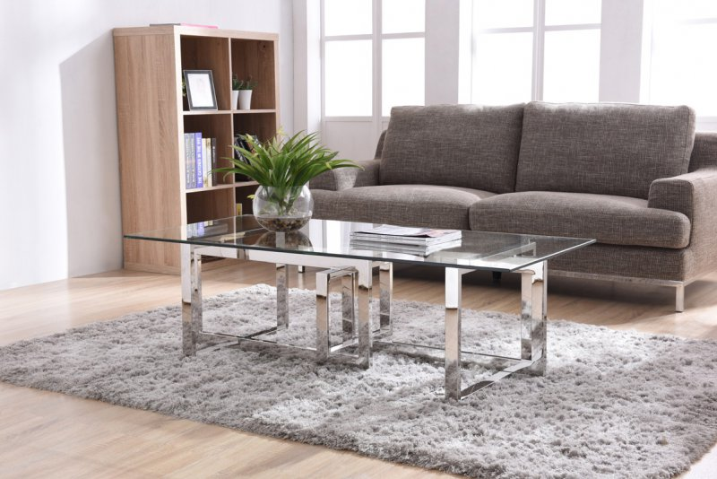 What Modern Furniture Fits A Long Narrow Living Room La