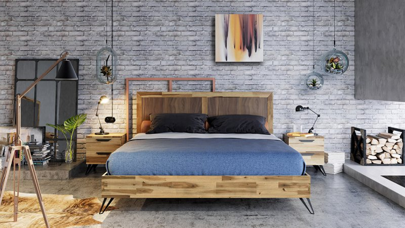 A Perfect Bedroom via Sleek Modern Bedroom Sets - LA Furniture Blog
